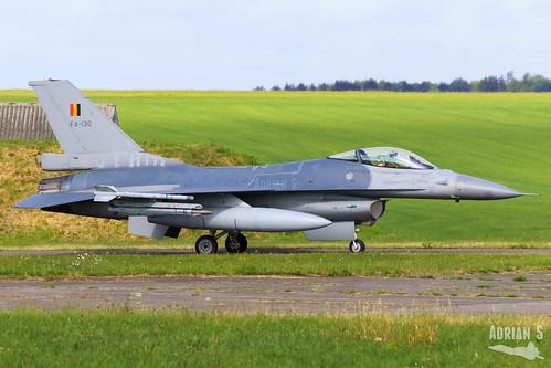FA-130 F-16AM Fighting Falcon | EBFS | 16.06.2020