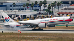 China Cargo from Shanghai Touches down at LAX