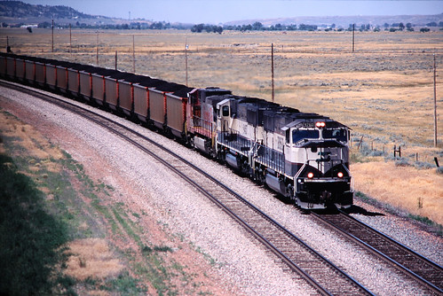 BNSF, Gillette, Wyoming, 2005