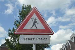 Fietsers Pas op! (136FJAKA_3873)