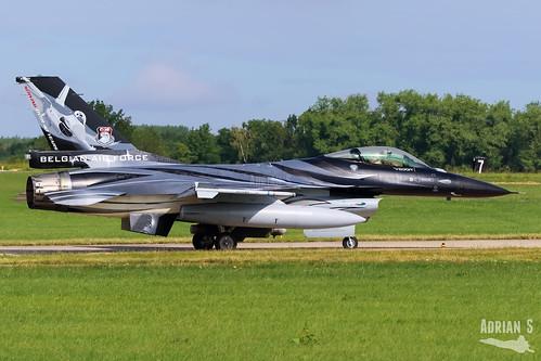 FA-101 F-16AM Fighting Falcon | EBFS | 16.06.2020