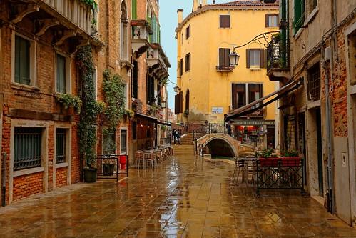 Venezia / Calle Larga Rosa / Ponte Zucca / Rio del Megio / Santa Croce