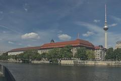 2018-08-12 DE Berlin-Mitte, Spree, Rolandufer, Berliner Fernsehturm