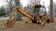Backhoe at Mill Mountain Park [02]