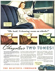 1940 Chrysler Two Tone Interiors