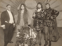 "Principals from theatrical production of ""Faust"", Fuller-Gonsalez Opera, Sydney, 1928"