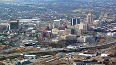 Roanoke from the star, March 2003