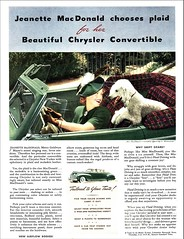 1940 Chrysler New Yorker Convertible (1941 Ad)