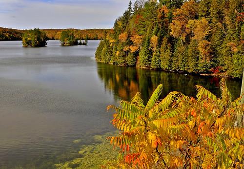 Lake L'Amable, Kawarthas, Ontario, Canada