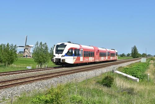 🇳🇱 Arriva GTW 2/8 301 te Visvliet