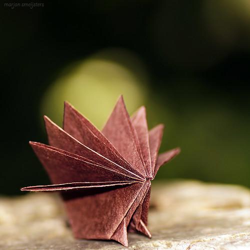 Origami Porcupine (Kunihiko Kasahara)
