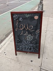Love Is Old-Fashioned Pizza