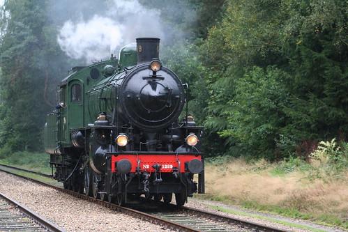 2008-09-07; 0048. ZLSM 1289 met trein 773. Soerense Zand Noord, Eerbeek. Terug naar Toen.