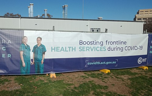 COVID-19 emergency department outside Canberra Hospital