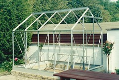 Moving the Greenhouse, June 1990