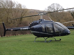 G-IDFE Bell 505 Jet Ranger X Helicopter (Ferns Surfacing Ltd)