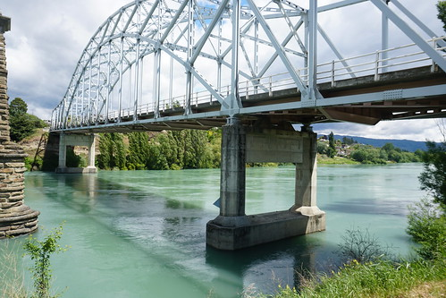 The Alexandra Bridges, Clutha River, Otago