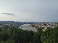 Vista de Budapest desde la Colina Gellért (Hungría)