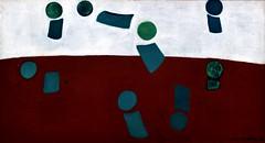 Composition or Pim! Pam! Poum! (1934) - Maria Helena Vieira da Silva (1908-1992)