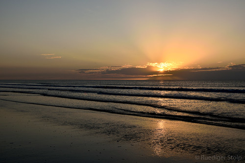 North Sea Island Ameland, Netherlands