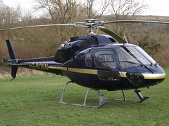 G-BOSN Aerospatiale AS355F Ecureuil 2 Helicopter (Helicopter Services Ltd)