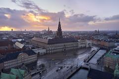 Christiansborg / Folketinget, Danish Parliament - Dji Mavic Pro 2 drone