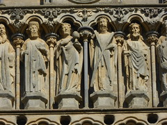 Wells Cathedral - West Front Sculptures
