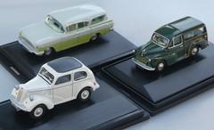 1:76 scale Classic British cars