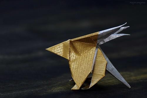Origami Porcupine (Eric Vigier)
