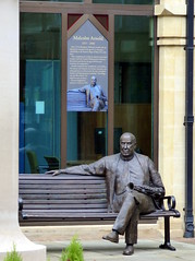 Northampton 043: Statue of Malcolm Arnold