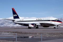 N951WP - Boeing 737-3B7 - Delta - KSLC - Feb 1999
