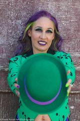 Photo Shoot - Heather as the Riddler