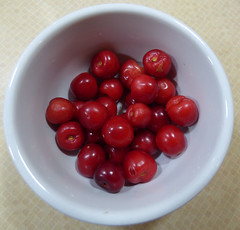 A Bowl of Allotment Cherries