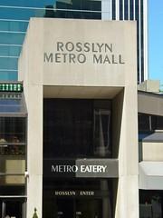 Rosslyn Metro Mall entrance