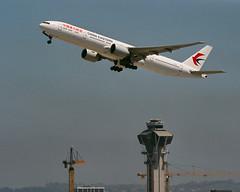 China Eastern 777 at LAX