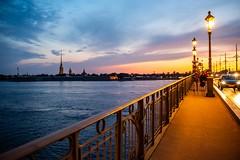 White night in Saint Petersburg