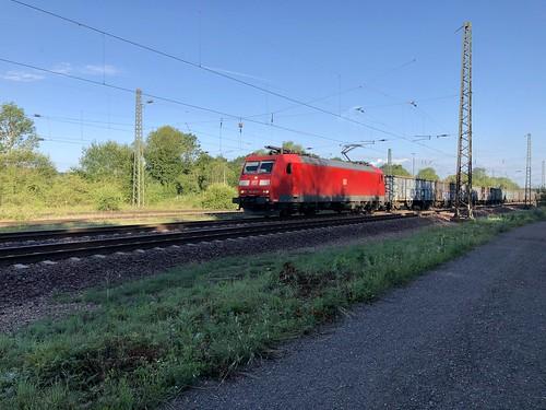 DB 185 020-5 bei Bous