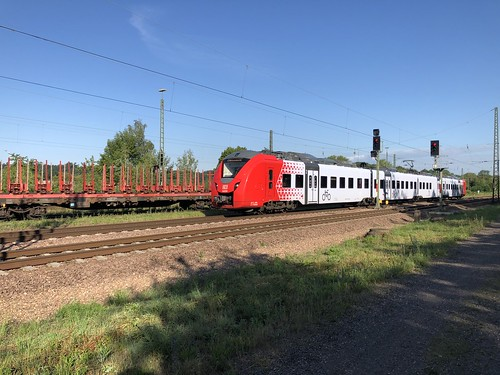 Alstom Coradia Continental in Bous