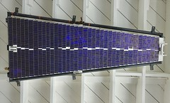 JPL Ranger Lunar Satellite Solar Panel
