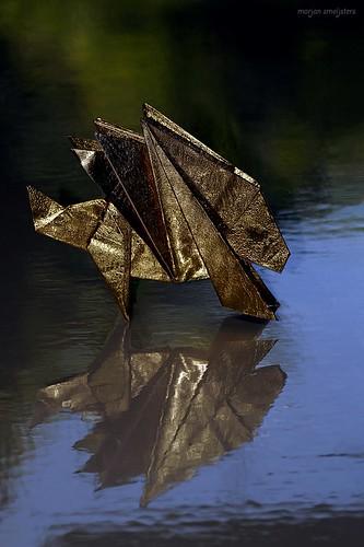 Origami Porcupine (Sachio Tsutsumi)