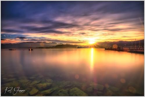 Traunsee Sonnenuntergang