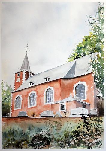 Eglise Saint Lambert à La Gleixhe (Flémalle)
