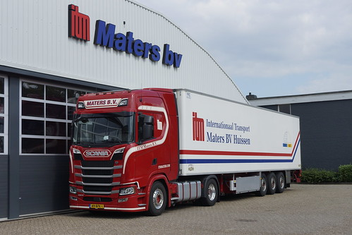 ITM Maters BV Scania 450 S Next Generation met kenteken 49-BPK-1 in Huissen 20-06-2020