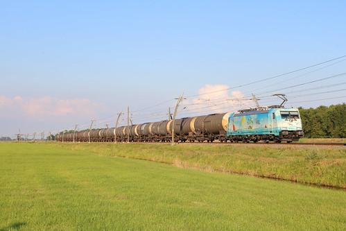 HSL 186 364, Herwijnen, 20-06-2020