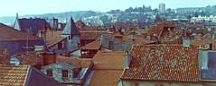 A09b Périgueux rooftops, 1972