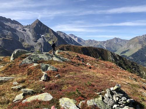 Herbstliche Farbstimmung am Tettensjoch 2.276 m