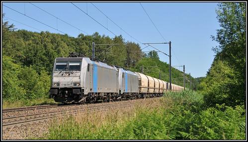 Lineas 186 291 + 186 510 Moresnet-Chapelle 20.06.2020