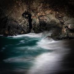 Breaker @ Beach South of Big Creek Bridge, Big Sur, CA #5