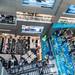 Bangkok, Thailand - November 28, 2019: Inside the MBK Center Mall, known for cheap market shopping and knock off designer goods