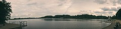 Panoramic view of the lake - Bad Segeberg | June 20, 2020 | In the federal state of Schleswig-Holstein in the Federal Republic of Germany